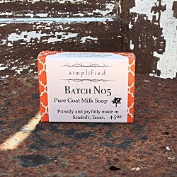 Batch No5 Goat Milk Bar Soap