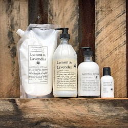 Lemon & Lavender Goat Milk Lotion
