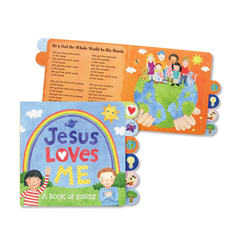 Jesus Loves Me Book Of Songs - Sisters Boutique & Gifts